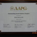 AAPG award - 2018